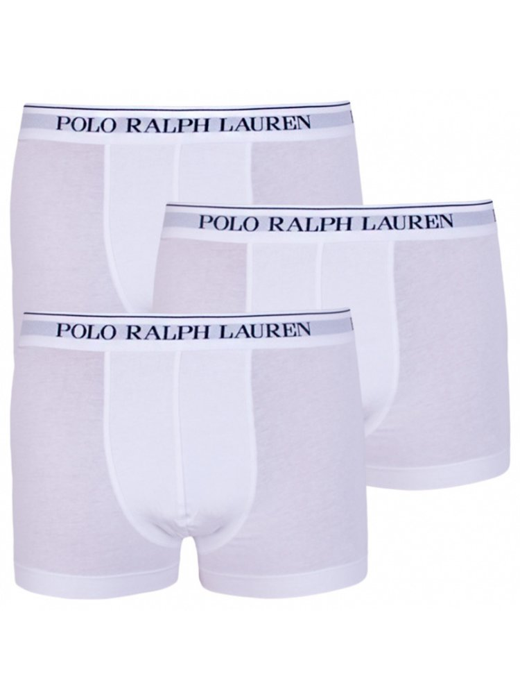 3PACK pánské boxerky Ralph Lauren bílé