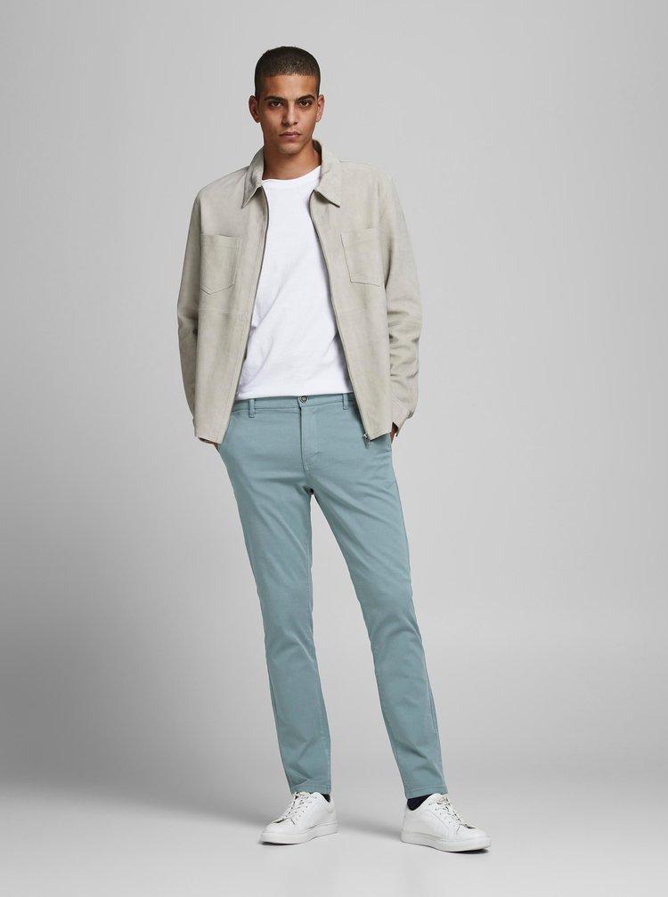 Světle modré kalhoty Jack & Jones Marco