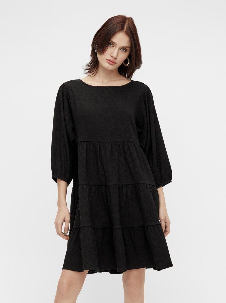 Černé volné šaty .OBJECT Sif