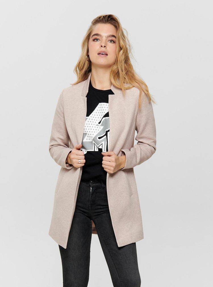 Béžový ľahký kabát ONLY Soho