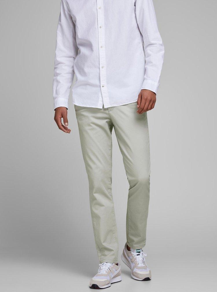 Světle šedé kalhoty Jack & Jones Marco
