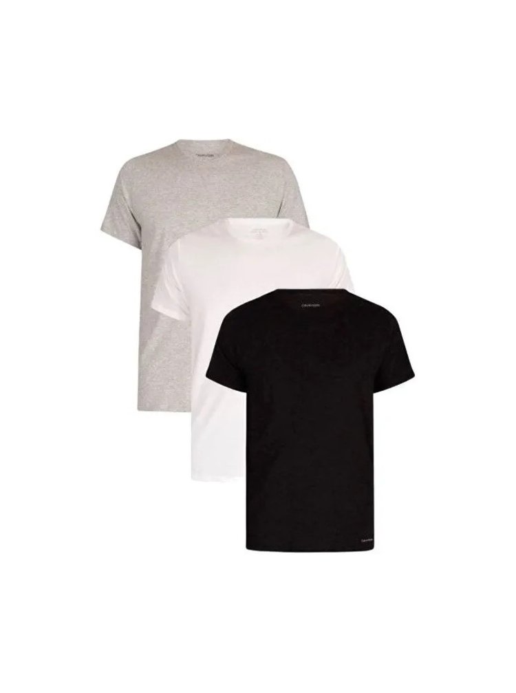 3PACK pánské tričko Calvin Klein vícebarevné