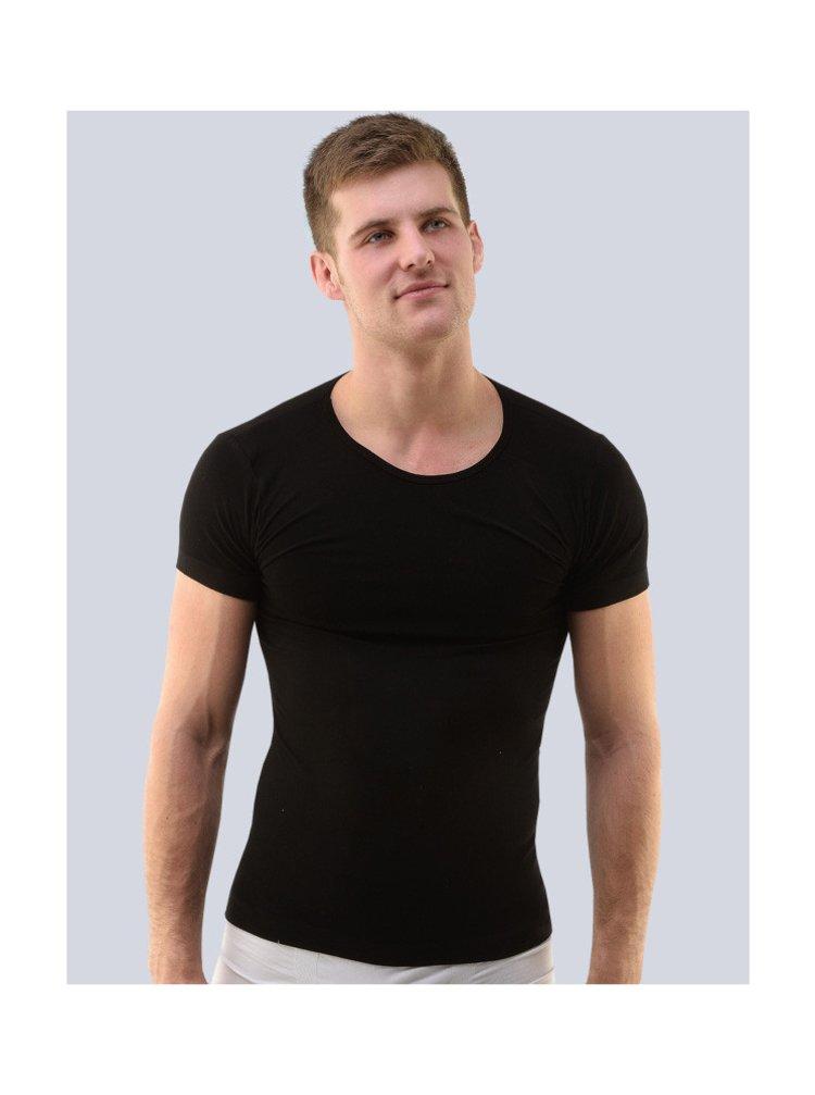 Pánské tričko Gino bambusové černé