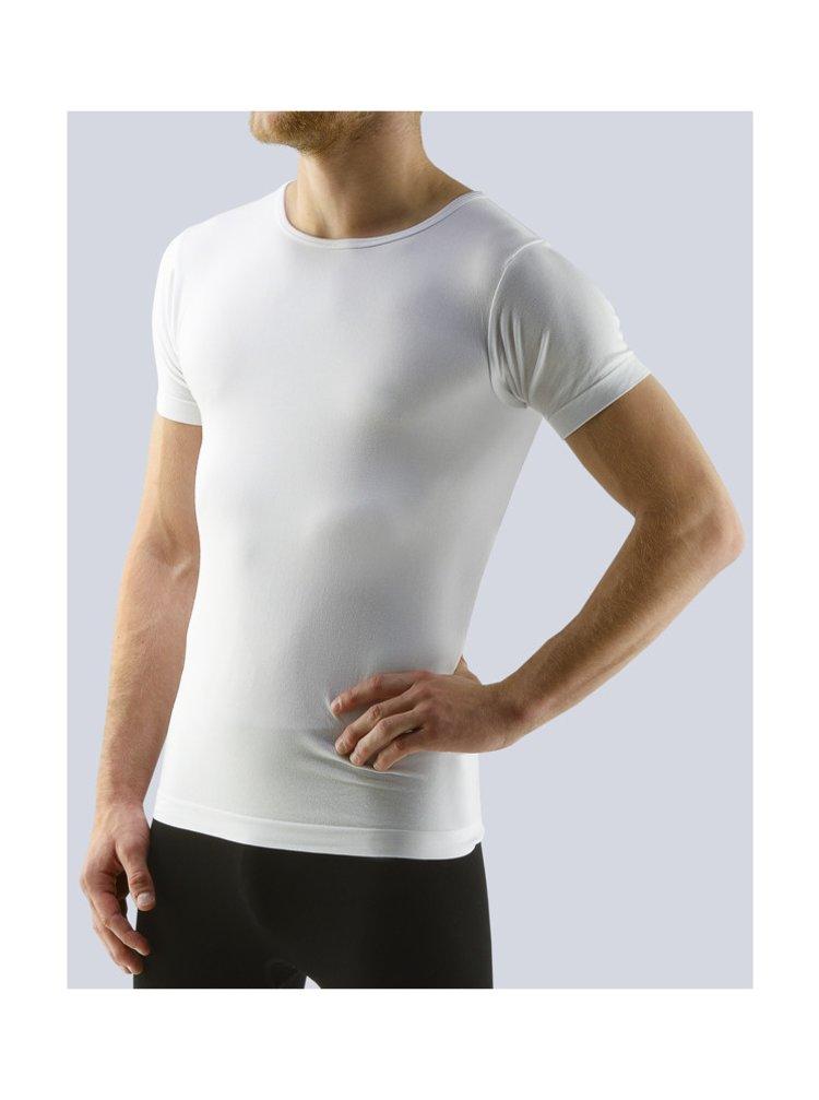 Pánské tričko Gino bambusové bílé