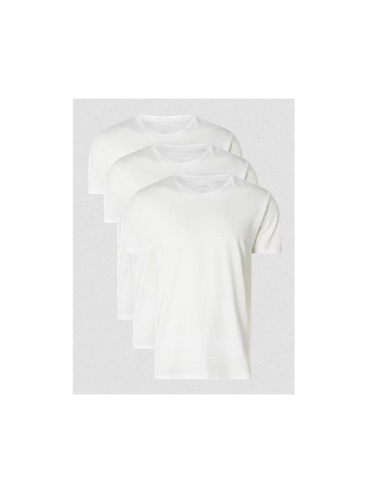 3PACK pánské tričko Calvin Klein bílé