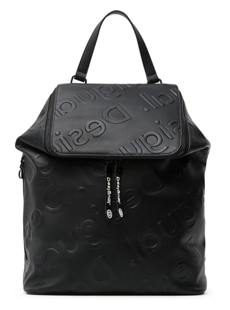 Desigual čierne ruksak Back Colorama Loen Black