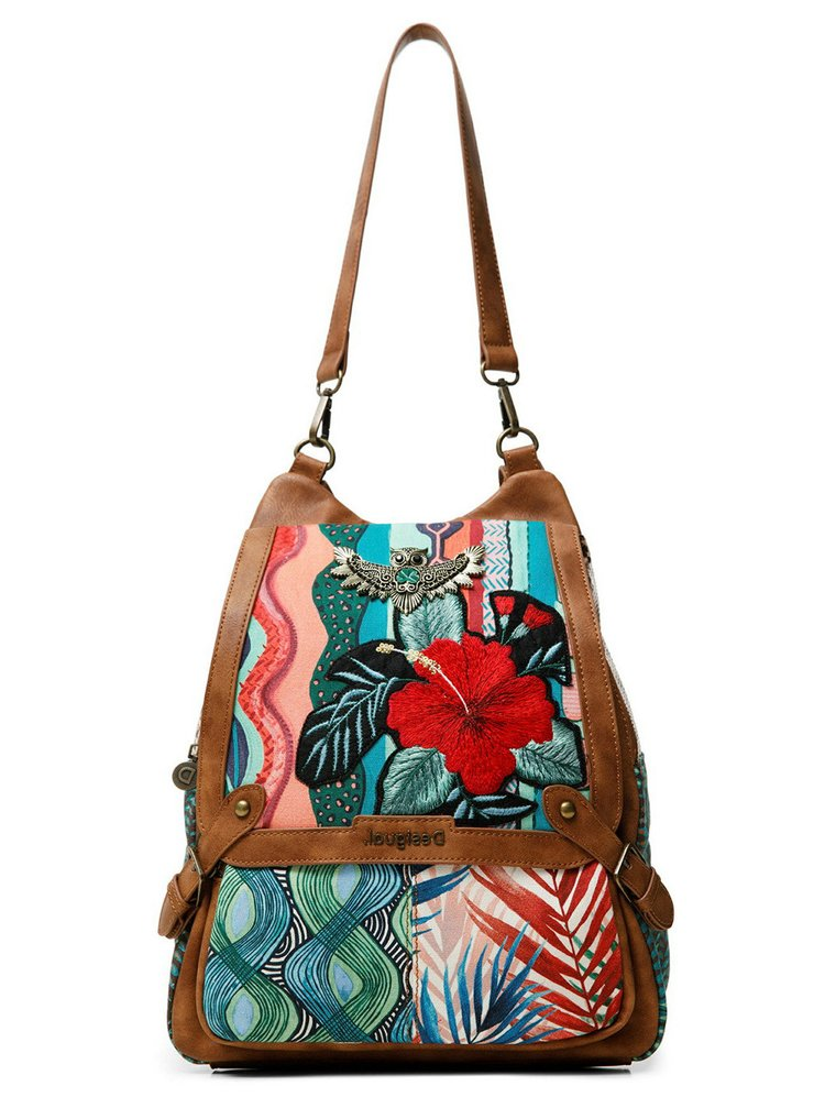 Desigual farebné 2v1 kabelka Back Pitahaya Bibury