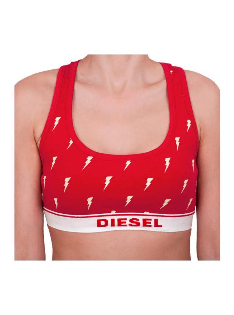 Dámská podprsenka Diesel červená