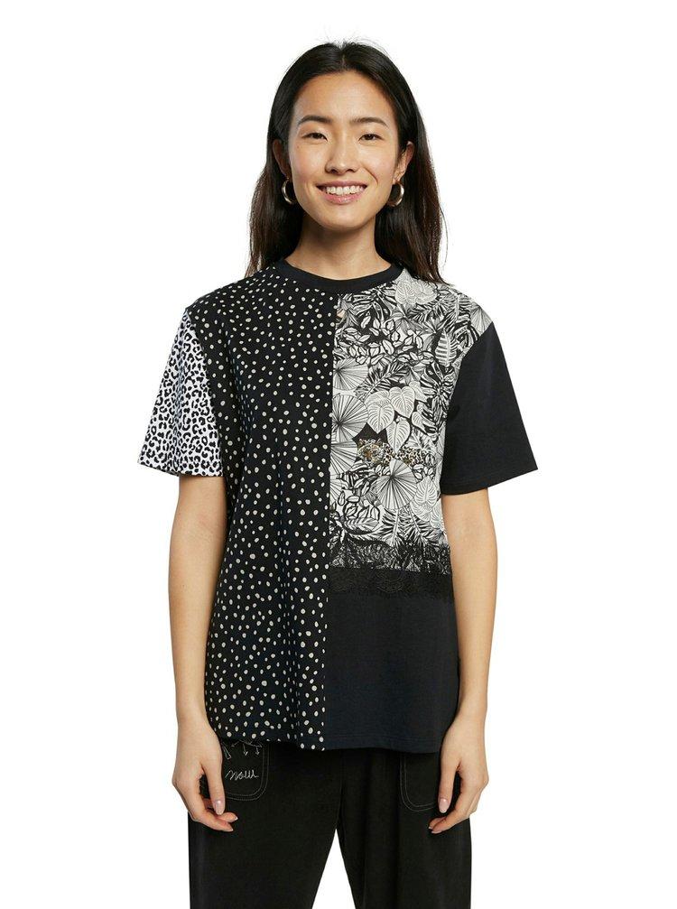 Desigual černé tričko TS Loris