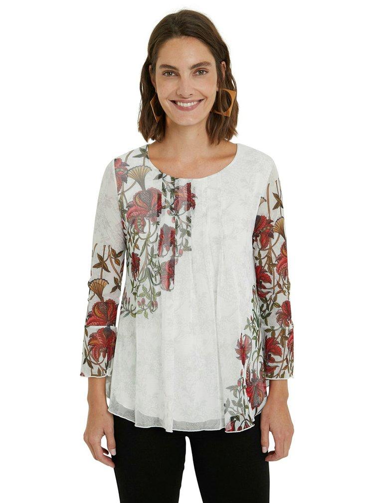 Desigual bílé tričko TS Sheila