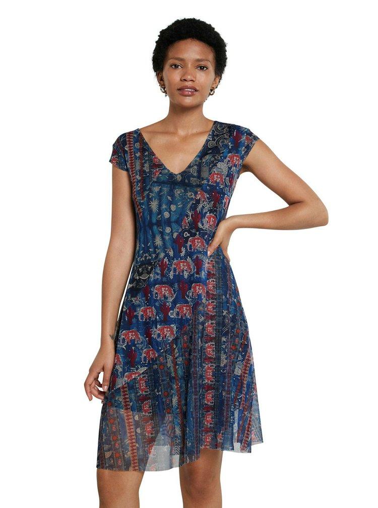 Desigual modré šaty Vest Merry