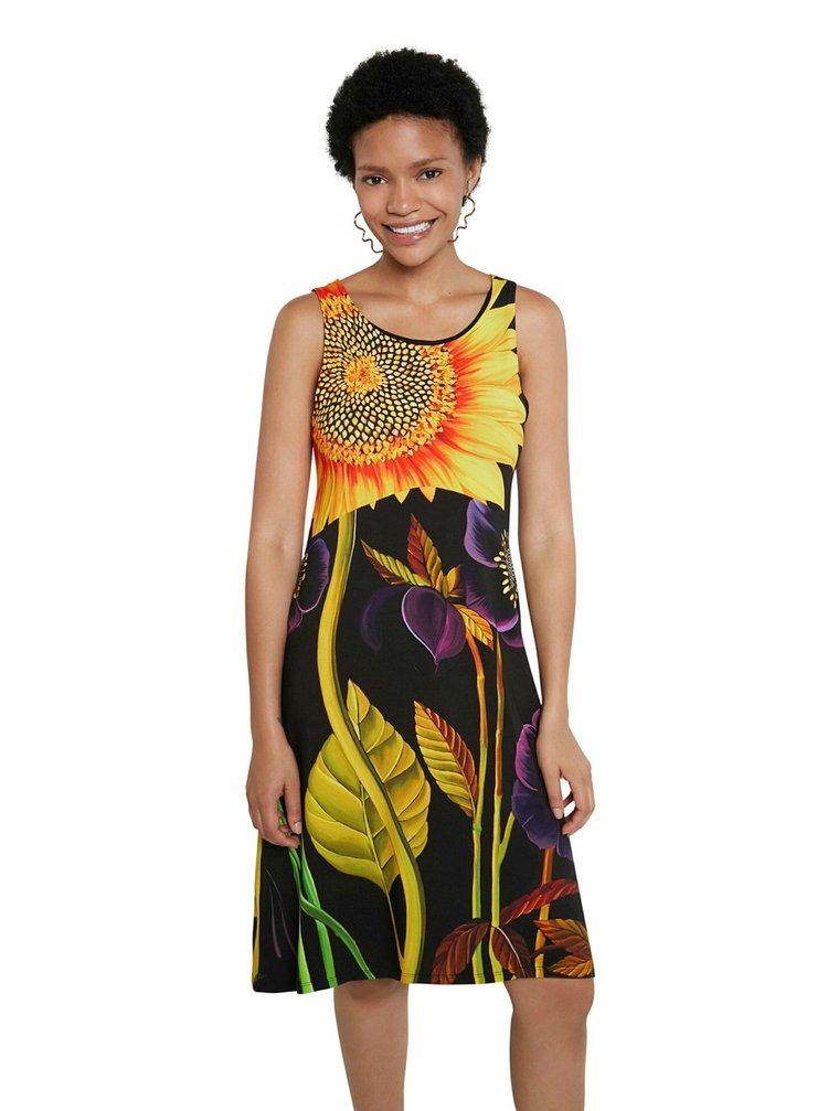 Desigual barevné šaty Vest Marlon