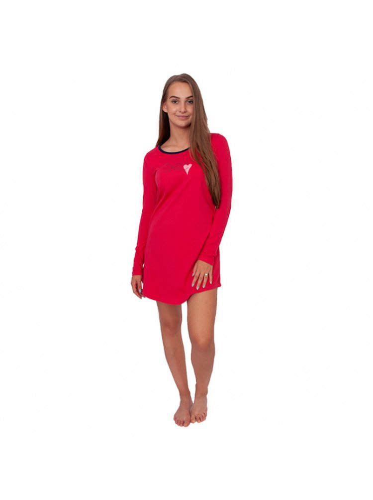 Dámská noční košile Gina růžová