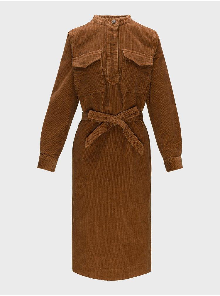 Hnědé dámské šaty GAP