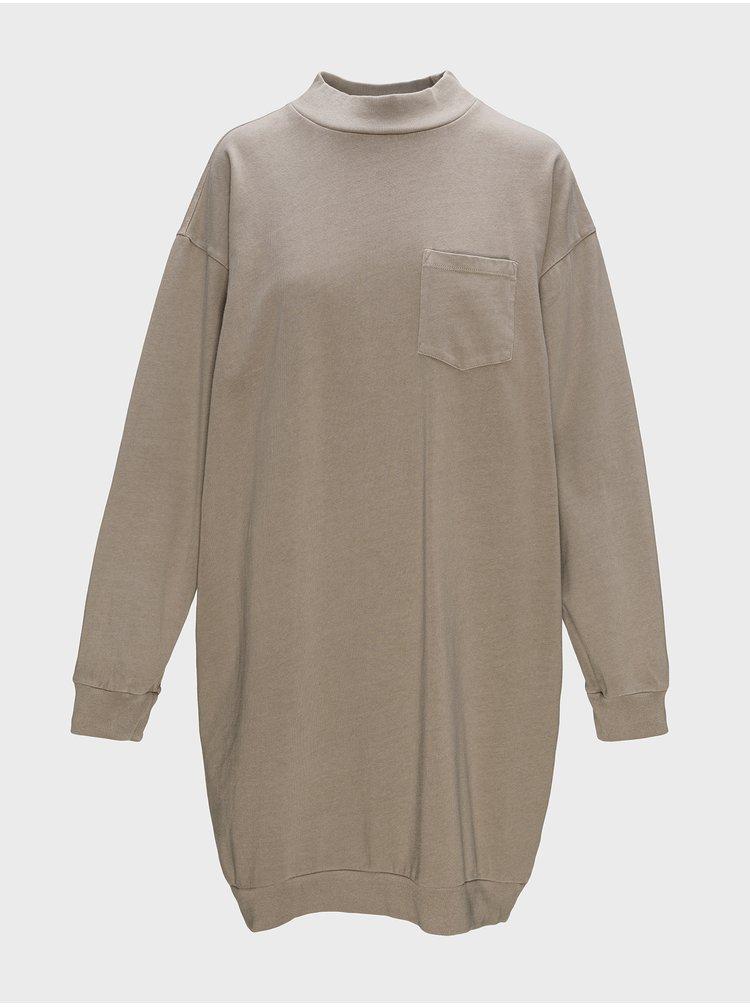 Béžové dámské šaty GAP