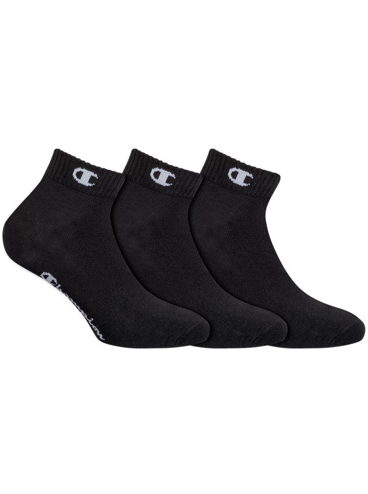 CHAMPION ANKLE SOCKS LEGACY 3x - Športové členkové ponožky 3 páry - čierna