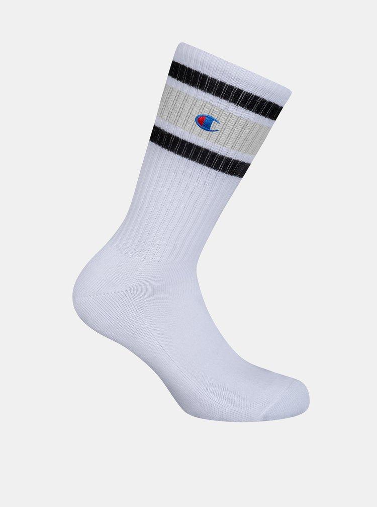 CREW SOCKS CHAMPION PREMIUM UNISEX - 1 pár prémiových športových ponožiek Champion - biela