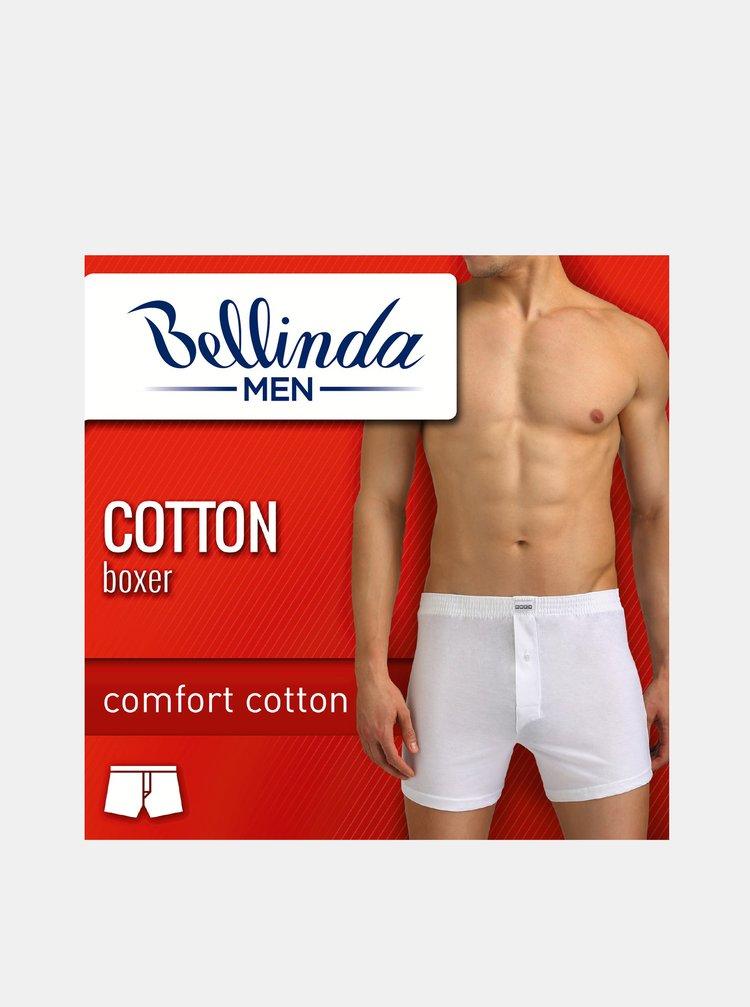 Pánské boxerky COTTON BOXER - Volné pánské bavlněné boxerky - šedá