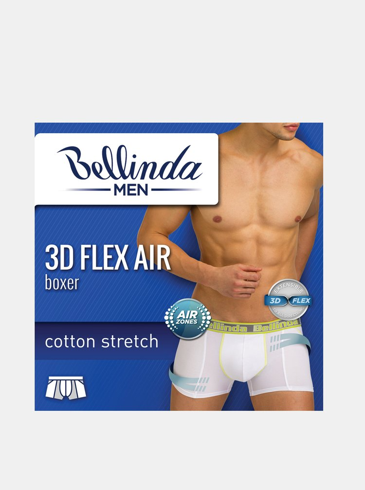 Pánske boxerky 3D FLEX AIR BOXER - Pánske boxerky s 3D flex bavlnou vhodné na šport - modrá