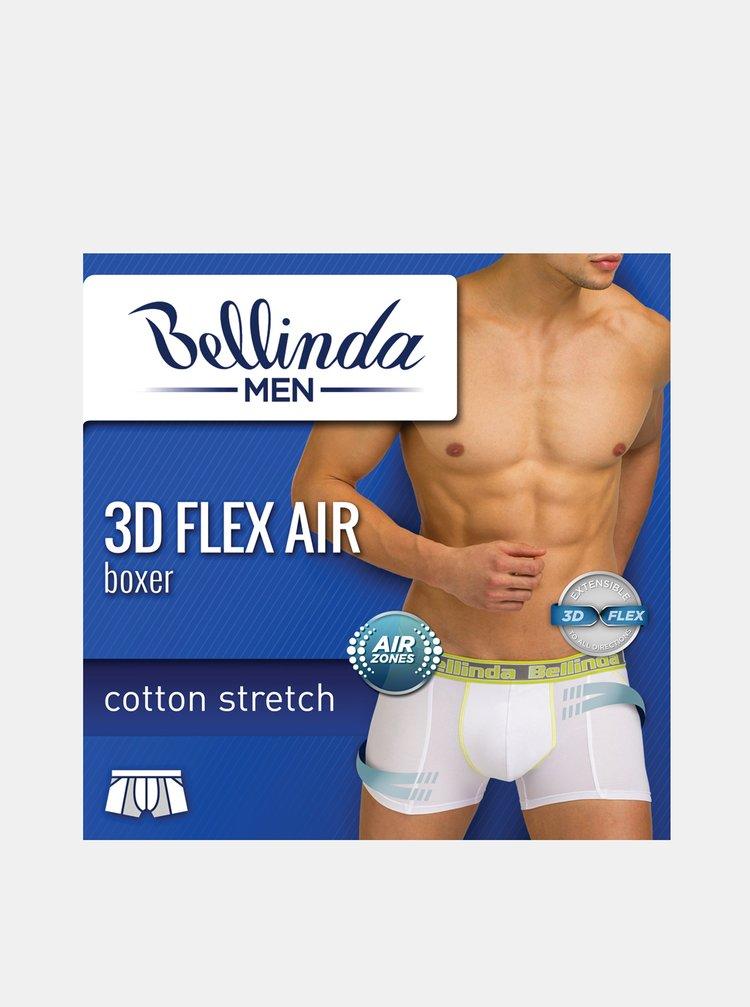 Pánské boxerky 3D FLEX AIR BOXER - Pánské boxerky s 3D flex bavlnou vhodné pro sport - šedá