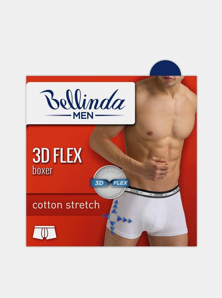 Pánské boxerky 3D FLEX BOXER - Pánské bavlněné boxerky z nového inovativního vlákna - šedá