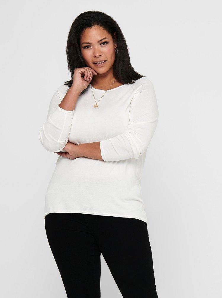 Bílé tričko ONLY CARMAKOMA Lady