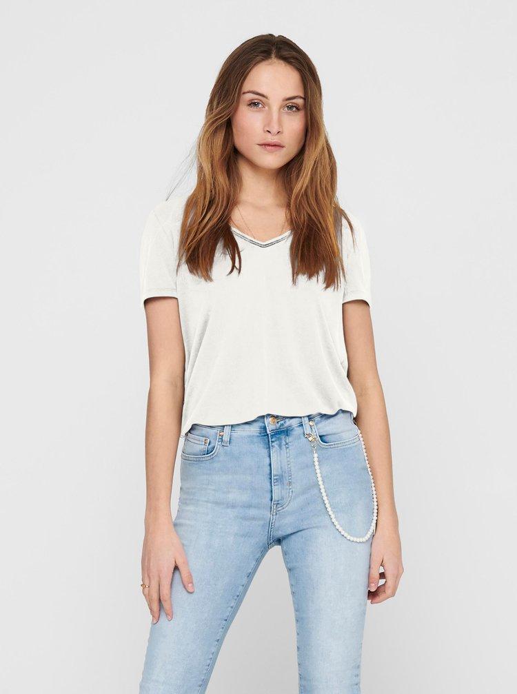 Bílé tričko ONLY