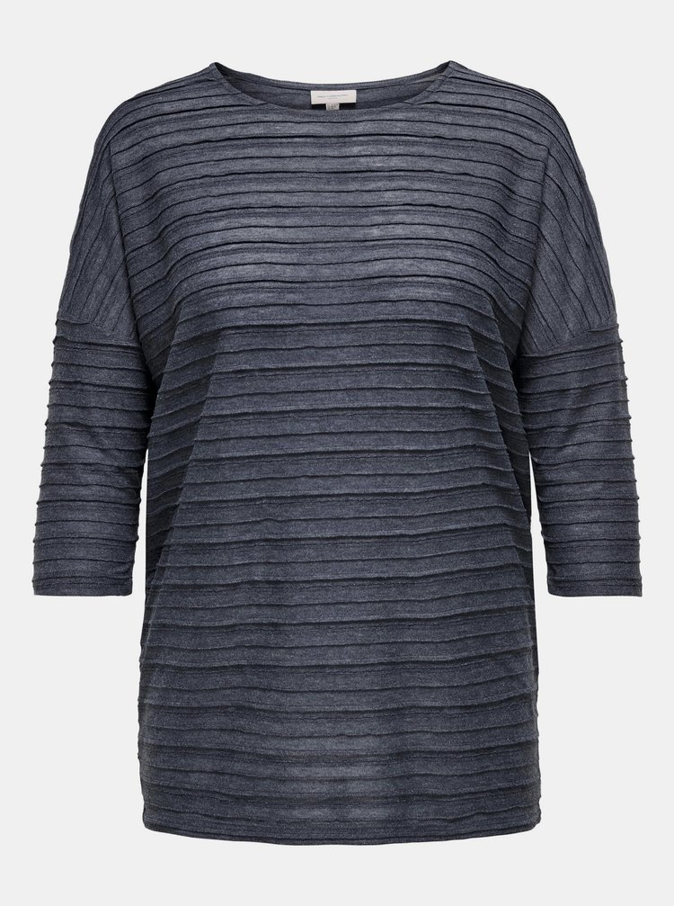 Tmavě modré tričko ONLY CARMAKOMA Melly