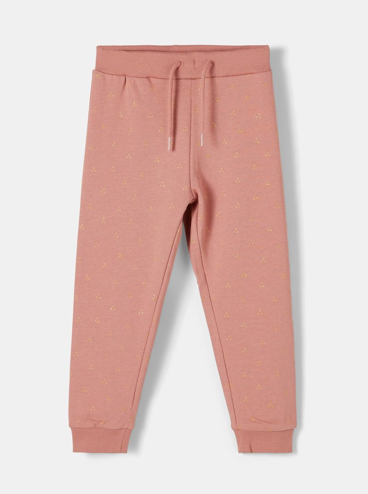 Ružové dievčenské tepláky name it Bodil