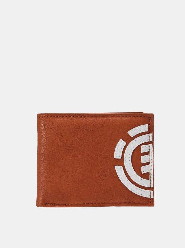 Element DAILY GINGER BREAD pánská značková peněženka - hnědá
