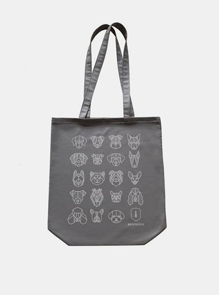 Plátěná taška Dog's Fabric Handbag BeWooden
