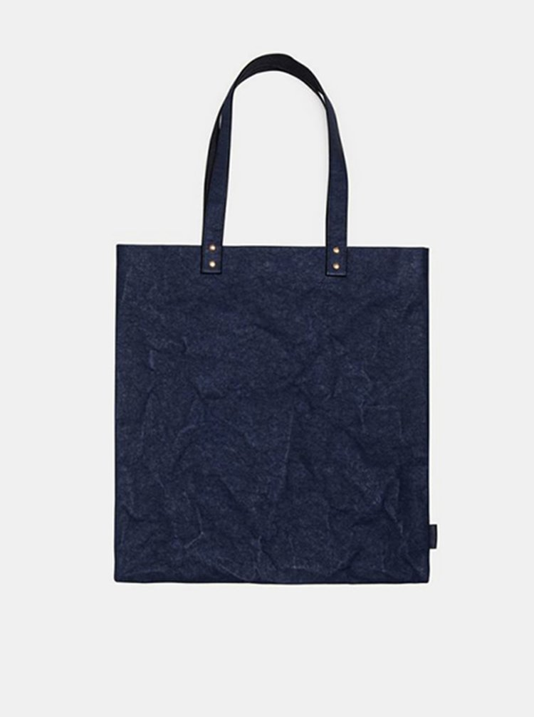 Dámská modrá taška Navit Washpaper Handbag BeWooden