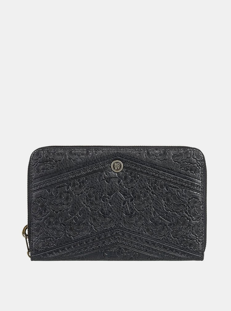 Roxy MAGIC HAPPENS ANTHRACITE dámská značková peněženka - černá