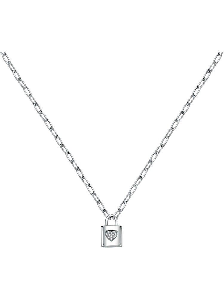 Dámský náhrdelník ve stříbrné barvě La Petite Story