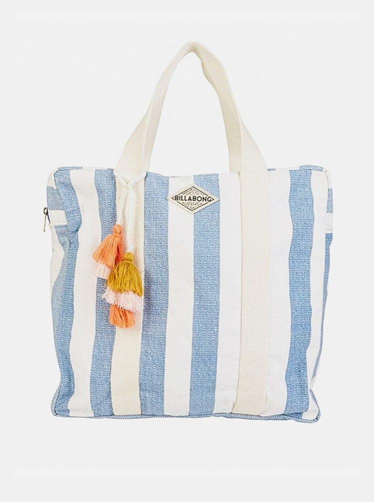 Billabong WASHED OUT FRENCH BLUE plážová taška - modrá