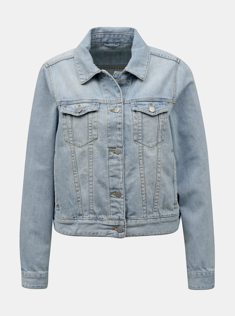 Světle modrá džínová bunda VILA Rosabell