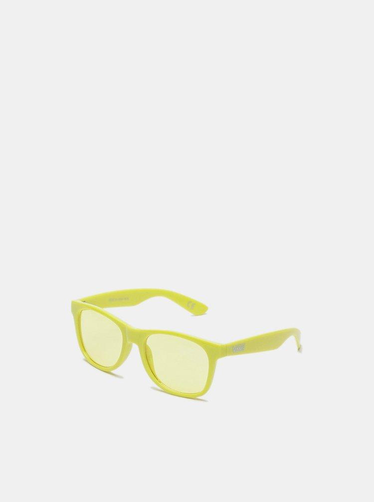 Vans SPICOLI 4 SHADES SULPHUR SPRING sluneční brýle pilotky - žlutá