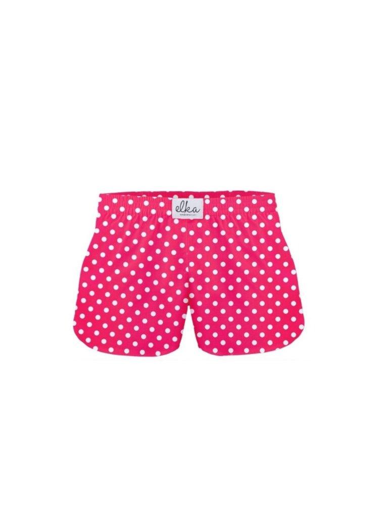 Dětské trenky ELKA růžové s puntíky