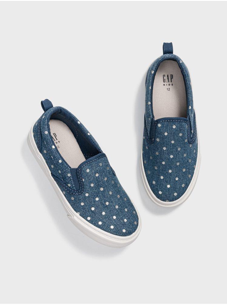 Modré holčičí boty GAP