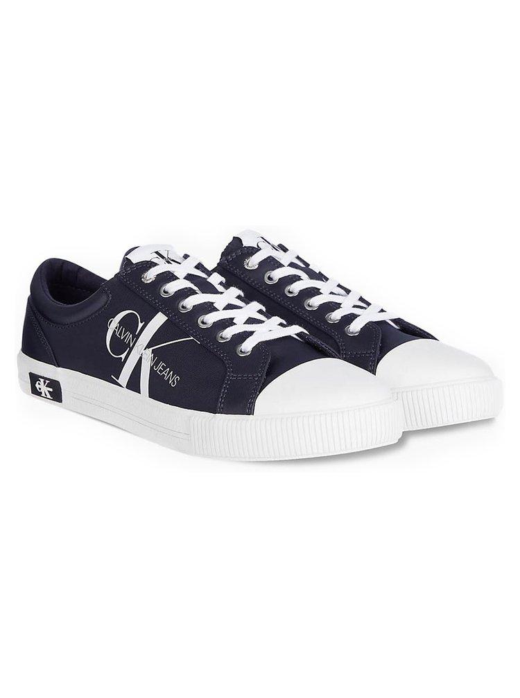 Calvin Klein modré pánske tenisky Vulcanized Sneaker Laceup