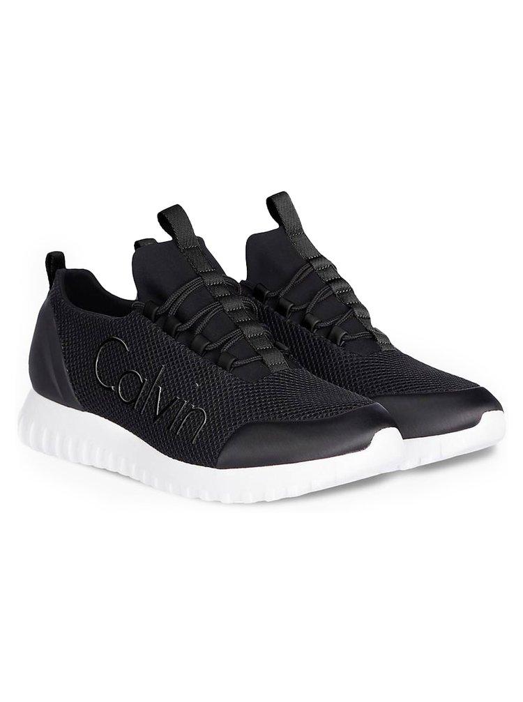 Calvin Klein čierne pánske tenisky Runner Sneaker Laceup