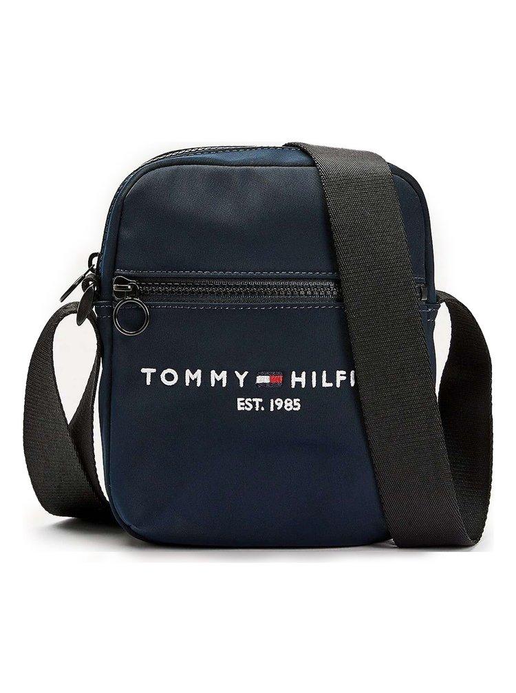 Tommy Hilfiger modrá pánská taška Established Mini Reporter