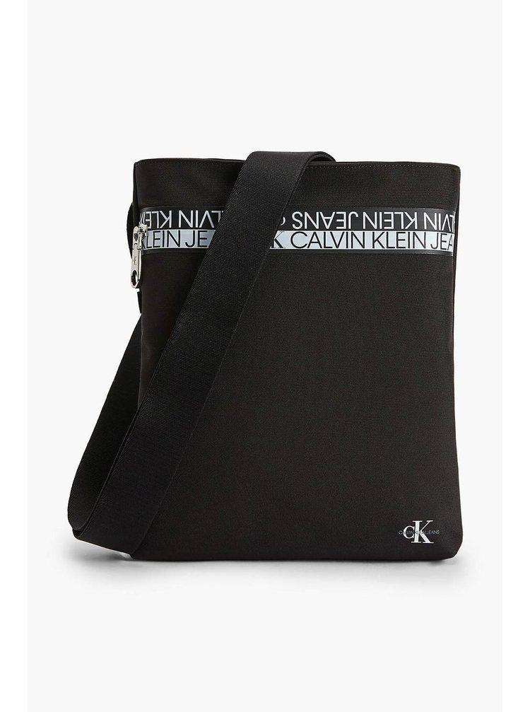 Calvin Klein černá pánská taška Flatpack Mirror