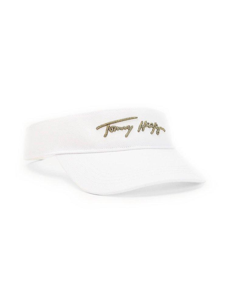 Tommy Hilfiger biely dámsky šilt Signature Visor s logom