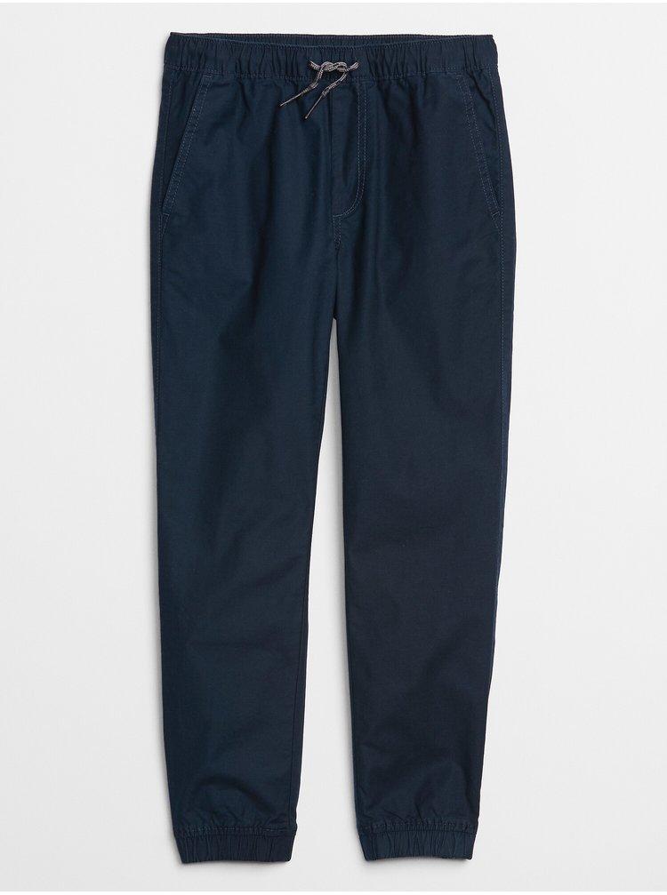 Modré klučičí dětské kalhoty v-td eday jogger