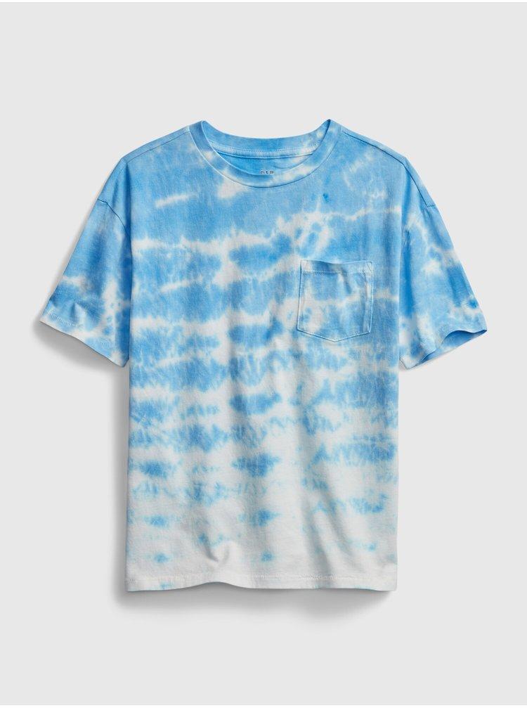 Modré klučičí dětské tričko tw ss tee
