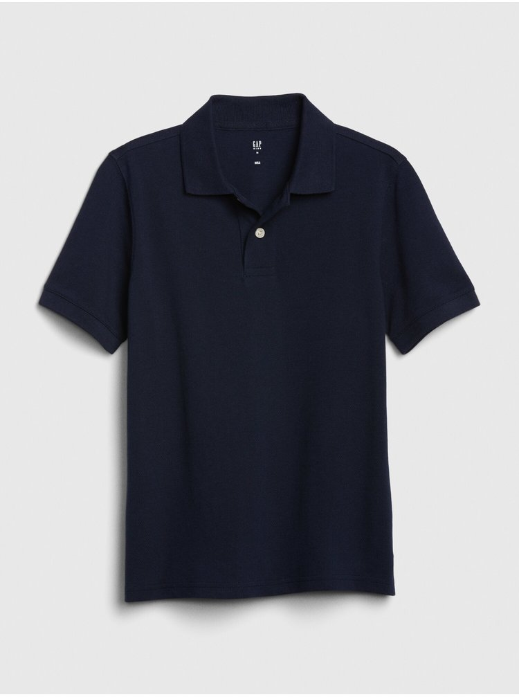 Modré klučičí dětské polo tričko