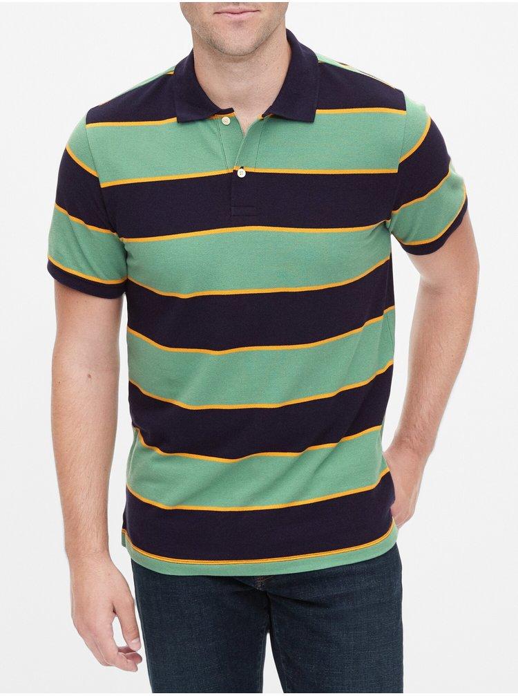 Barevné pánské polo tričko v-rugby pique