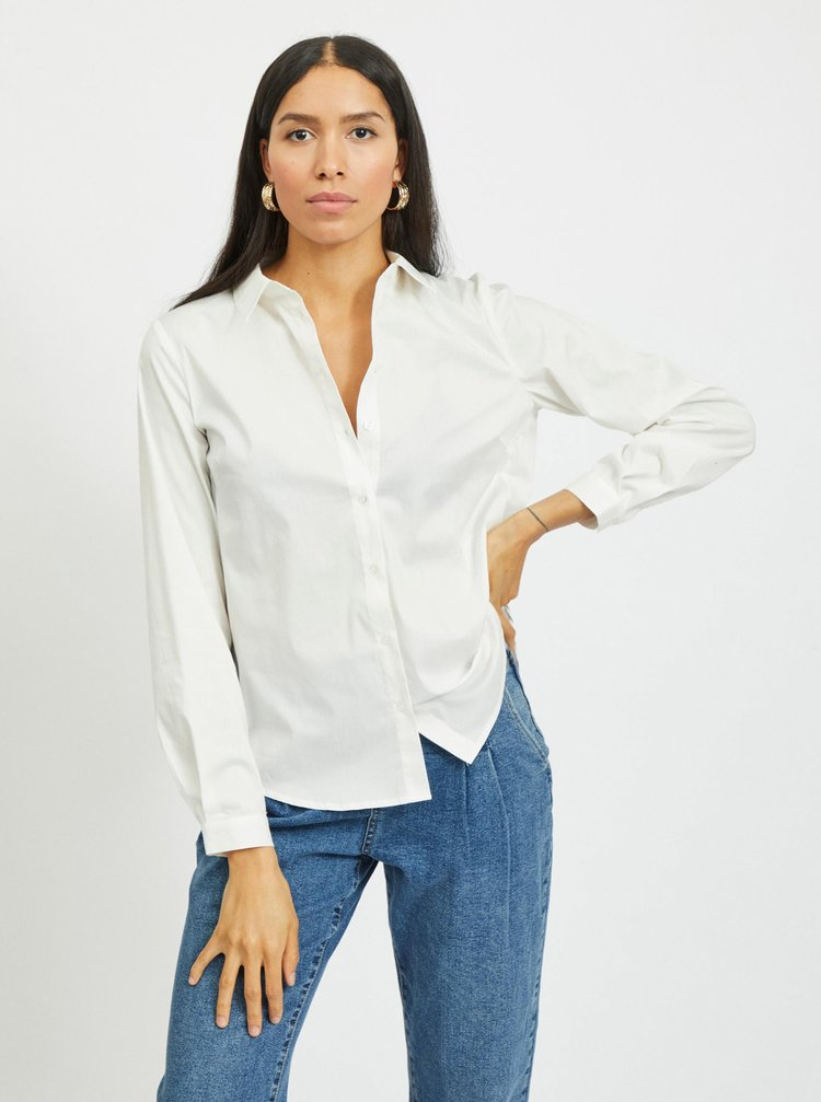 Bílá košile VILA Gima