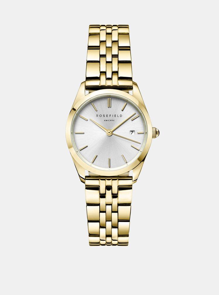 Dámské hodinky s nerezovým páskem ve zlaté barvě Rosefield